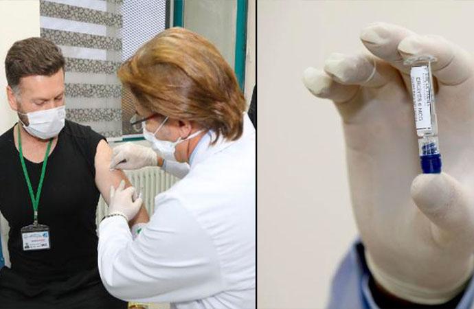 Yerli koronavirüs aşısının insan deneyleri başladı