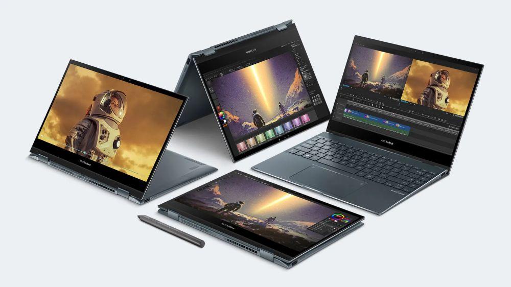 Asus ZenBook Flip 13  : Her ortama uyum sağlıyor