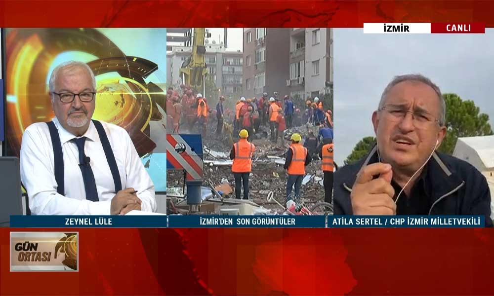 CHP İzmir Milletvekili Atila Sertel, İzmir'deki son gelişmeleri TELE1'e aktardı