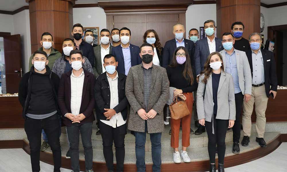 CHP Aydın Gençlik Kolları'ndan Başkan Atabay'a ziyaret