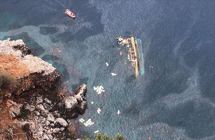 Alanya'da tur teknesi battı: 1 kişi hayatını kaybetti