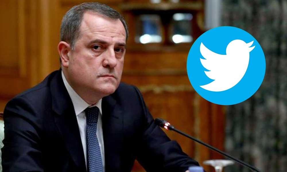 Twitter Azerbaycan Dışişleri Bakanı'nın hesabını askıya aldı