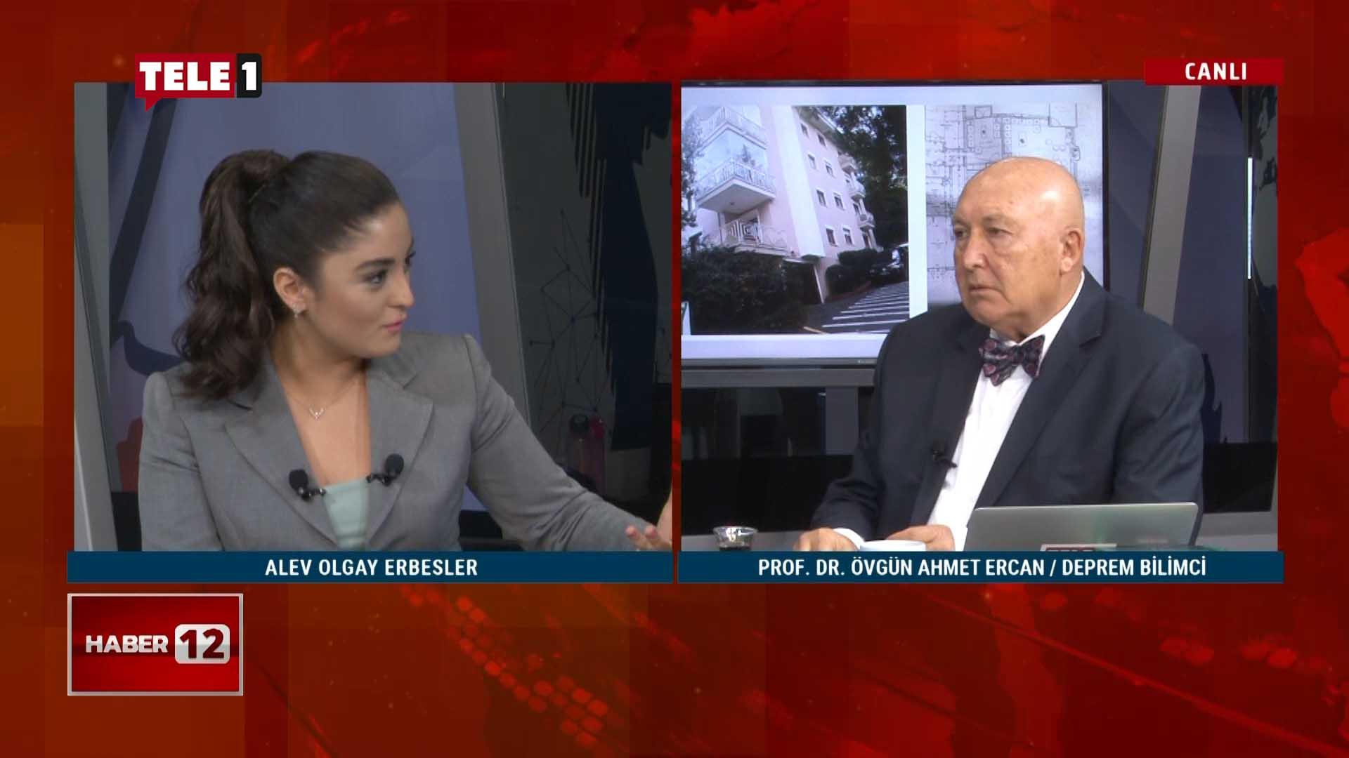 Prof. Dr. Ahmet Ercan: Deprem vergileri buhar olup uçtu