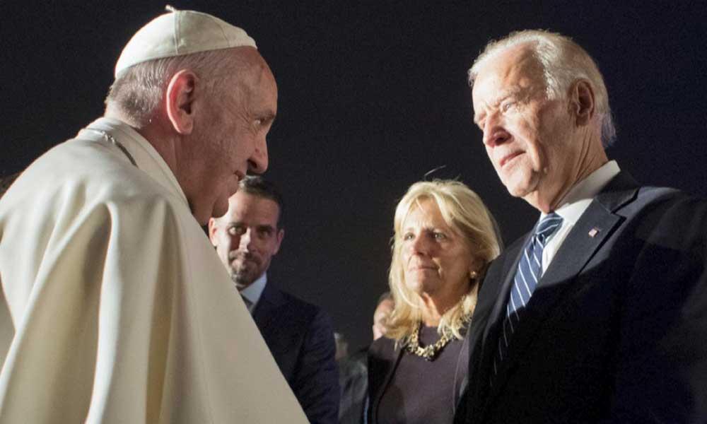 Papa Francis'ten Biden'a tebrik