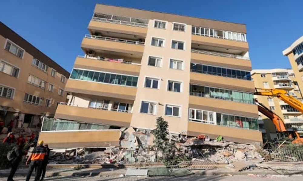 Bakanlık açıkladı: İzmir'de acil yıkılacak 124 bina tespit edildi