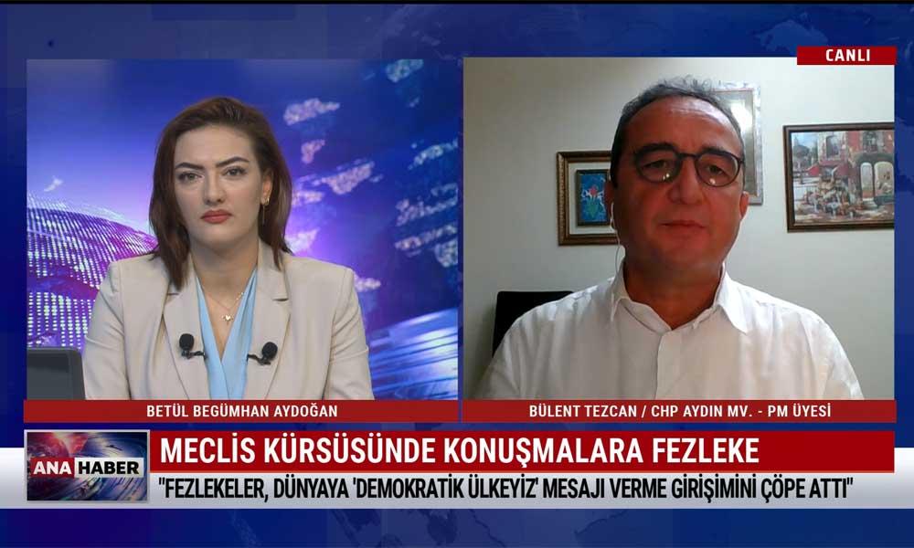 CHP PM üyesi Bülent Tezcan: Demokrasi adına tarih onlardan hesap soracak – TELE1 ANA HABER