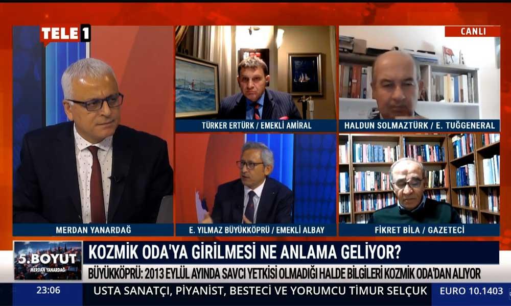 Emekli Albay Erkan Yılmaz Büyükköprü: Kozmik Oda'daki düzeni tekrar kurabilmek için 20-30 yıla ihtiyacımız var