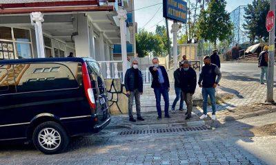 Başkan Atabay çalışmaları yerinde denetledi