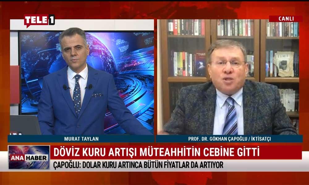 İktisatçı Prof. Dr. Gökhan Çapoğlu: Döviz borcu olan şirketler iflas edecek