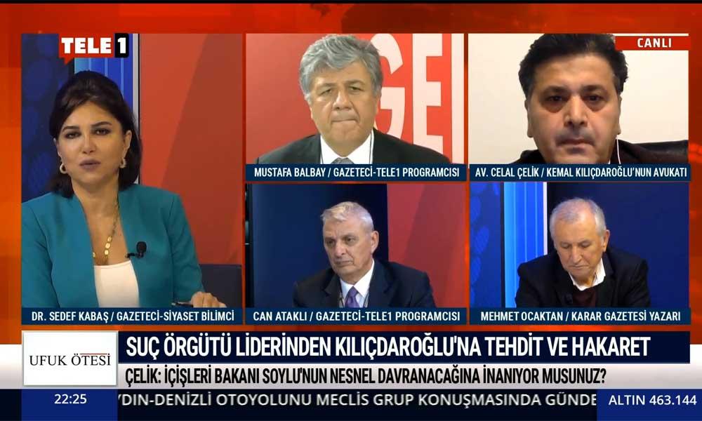 Kemal Kılıçdaroğlu'nun avukatından TELE1'e özel açıklamalar: Alaattin Çakıcı'nın ceza alması için her şeyi yapacağız