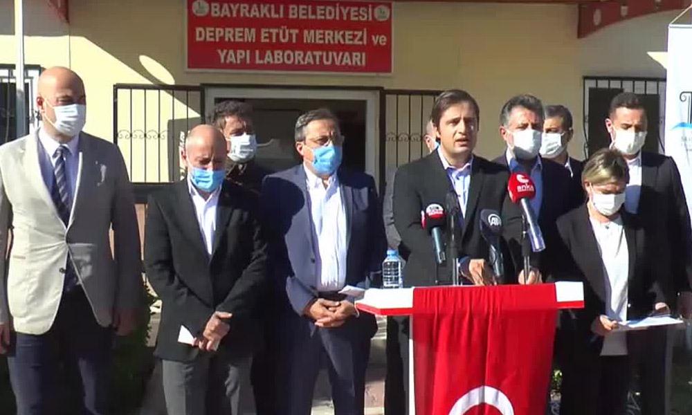 CHP heyeti İzmir'de: Bu milletin bir dakikasını bile harcamaya ne hakkınız var?
