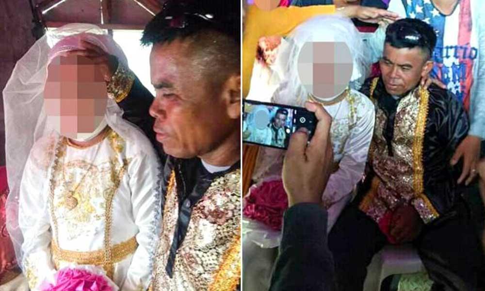 13 yaşındaki kız çocuğu, 48 yaşındaki adamla evlendirildi