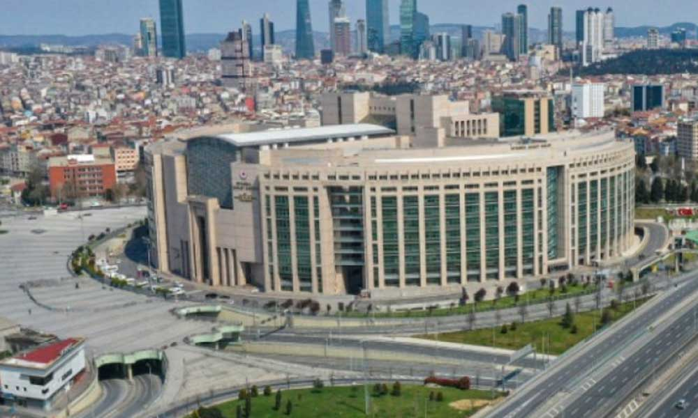Dev İstanbul Adliye Sarayı icra dosyalarına yetmedi