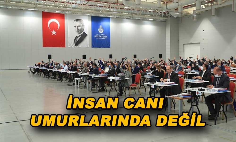 """İBB'nin """"İstanbul'u depreme hazırlama"""" teklifine AKP ve MHP'den ret"""