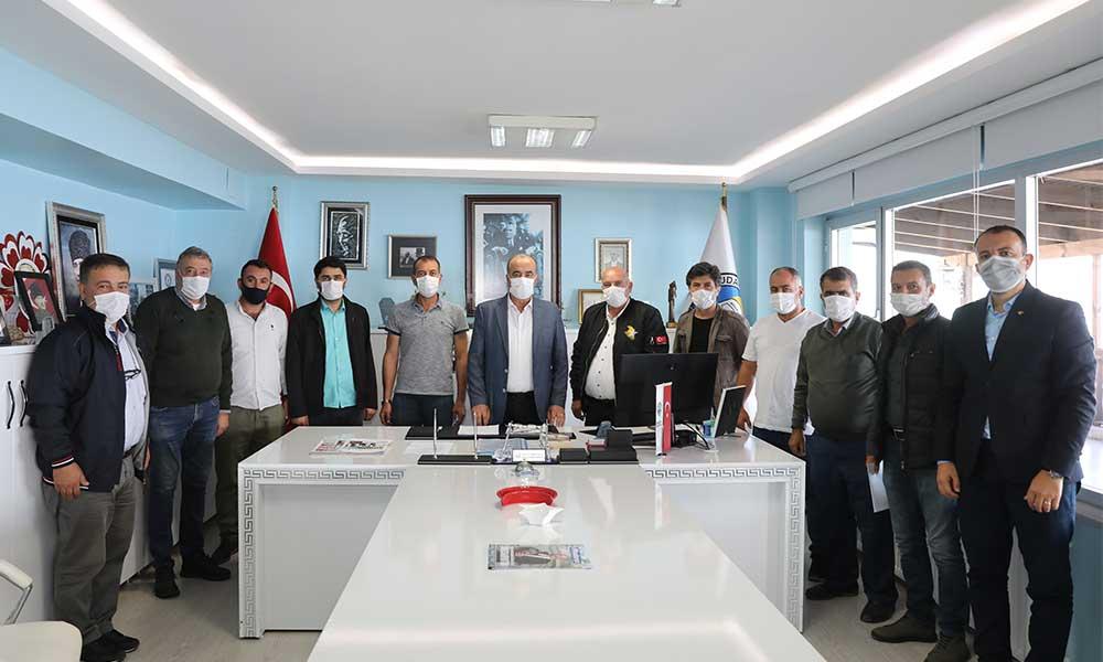 Mudanya Belediyesi'nden zeytin üreticisine 356 bin TL destek