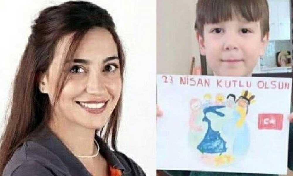 Diş hekimi Zarife Doğan, 6 yaşındaki Baran'ı tedavi ederken depreme yakalanmış