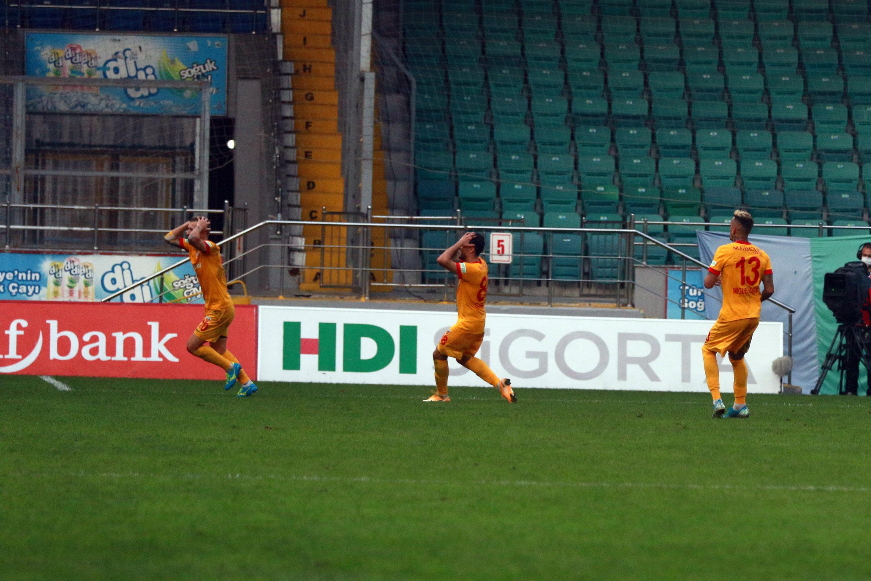 Çaykur Rizespor tek golle güldü