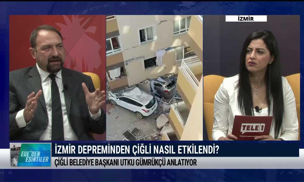 Çiğli Belediye Başkanı Utku Gümrükçü: Suçlu ararsanız hepimiz suçluyuz- EGE'DEN ESİNTİLER