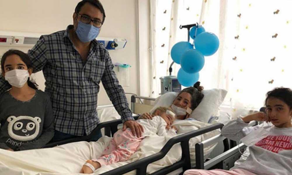 Mucize çocuk Elif günler sonra ailesine kavuştu