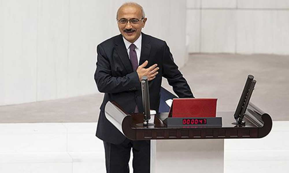 Hazine ve Maliye Bakanlığı görevine getirilen Lütfi Elvan'dan açıklama