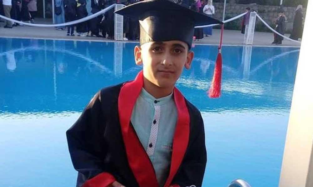 13 yaşında Emirhan kalp krizi geçirerek hayatını kaybetti