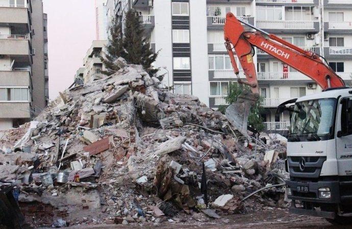 Emrah Apartmanı'nda arama kurtarma çalışmaları sonlandı