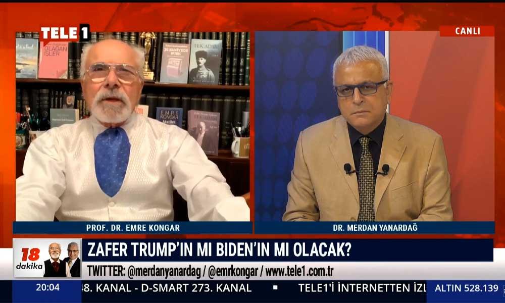 Emre Kongar: Trump'ın yaptığı yabancılaştırma ve düşmanlaştırma, Türkiye'dekinden bile önemli