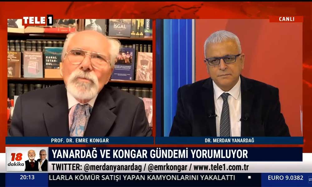 Emre Kongar: AKP'nin bu müttefiklerle yüzde 51'i tutturma ihtimali yok