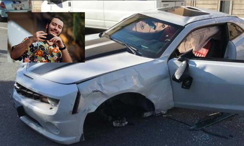 Fenomen Enes Batur trafik kazası geçirdi