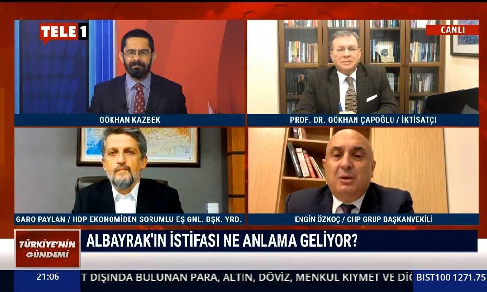 CHP Grup Başkanvekili Engin Özkoç: Söz konusu kendisi ve çıkarları olduğunda damat, başbakan dinlemiyor