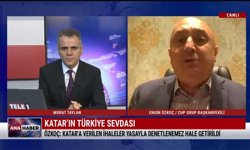 CHP'li Engin Özkoç: Bu ittifakının adı Cumhur-mafya ittifakıdır