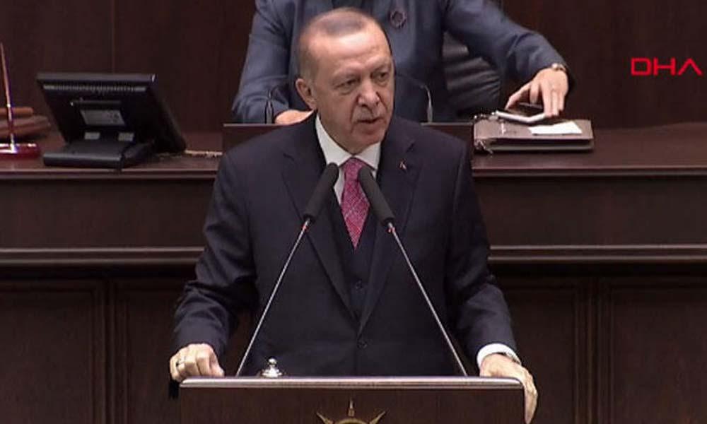Erdoğan: Bizi güya saraylarda sefa süren olarak göstermeye çalışmıyorlar mı…