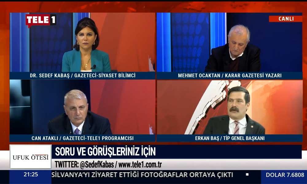 Erkan Baş: İktidar, muhalefetin Berat Albayrak hakkında söylediklerini üstü kapalı kabul etti