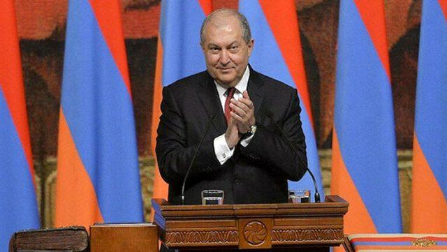 Ermenistan Cumhurbaşkanı yenilgiyi televizyondan öğrendi