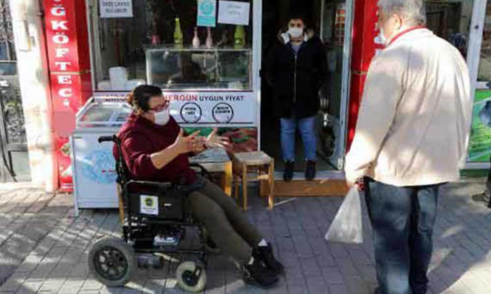 Engelli kadının akülü sandalyesinin şarj aleti çalındı: O olmadan yürüyemiyorum