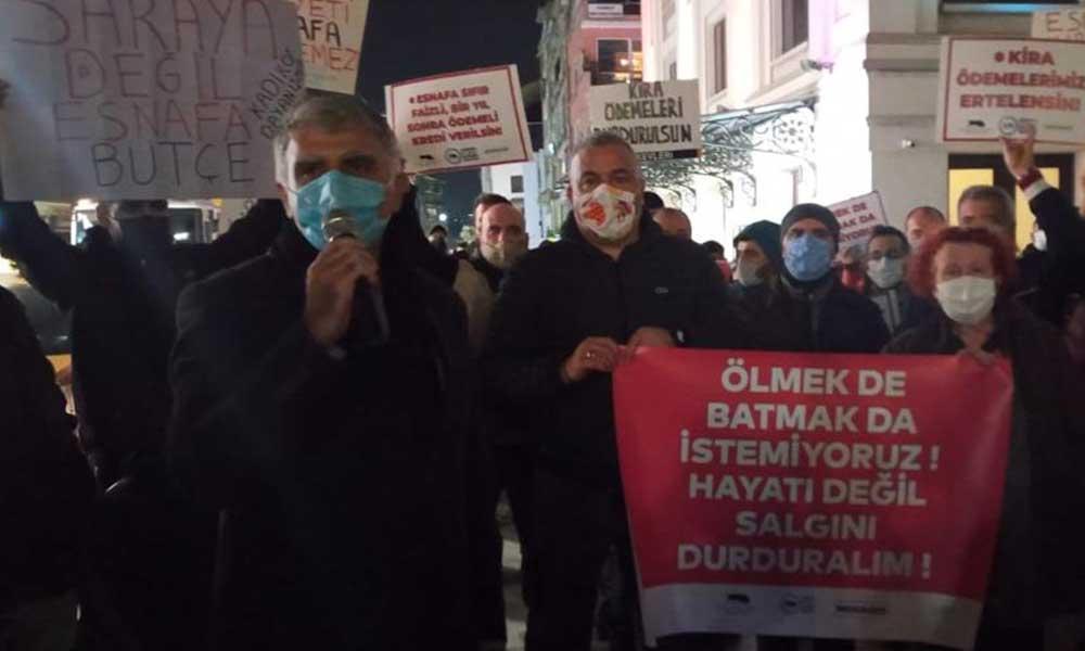 Kadıköy esnafı iktidara seslendi: Ölmek de batmak da istemiyoruz