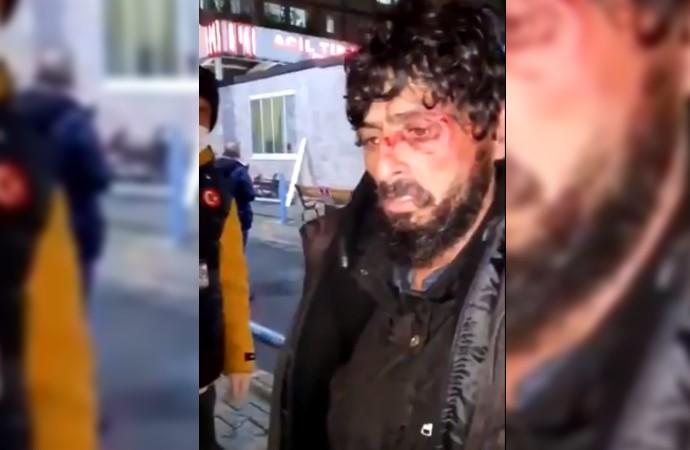 İstanbul'da hastane güvenliği evsiz yurttaşı öldüresiye dövdü