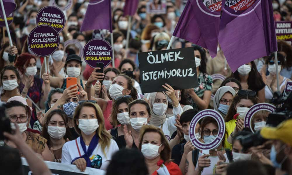 Kadınlardan eylem çağrısı: Bu tarihi ancak biz yazabiliriz