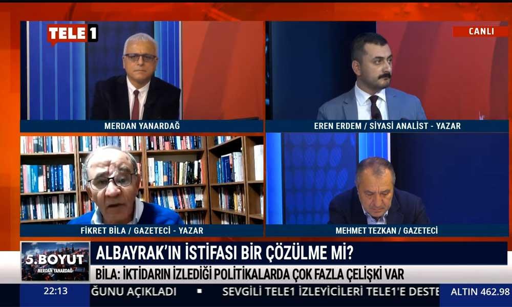 Fikret Bila: Erdoğan'ın 'acı reçetesi' daha fazla vergi, zam, pahalılık, borç demek