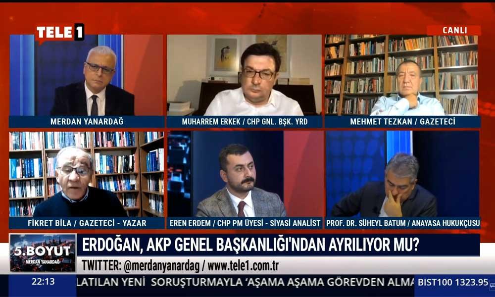 Fikret Bila, Kılıçdaroğlu'yla yaptığı görüşmeyi TELE1'de açıkladı: 'AKP'lilerden Meclis yöneticilerimize mesajlar geliyor'