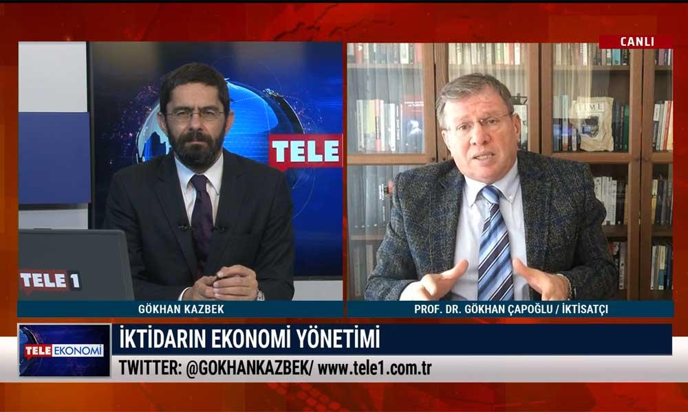 Prof. Dr. Gökhan Çapoğlu: Türkiye'nin gördüğü en kötü ekonomi ve siyaset yönetimiyle karşı karşıyayız – TELE EKONOMİ