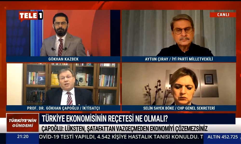 İktisatçı Prof. Dr. Gökhan Çapoğlu: Milli gelir kaybımız 125 milyar dolar olacak