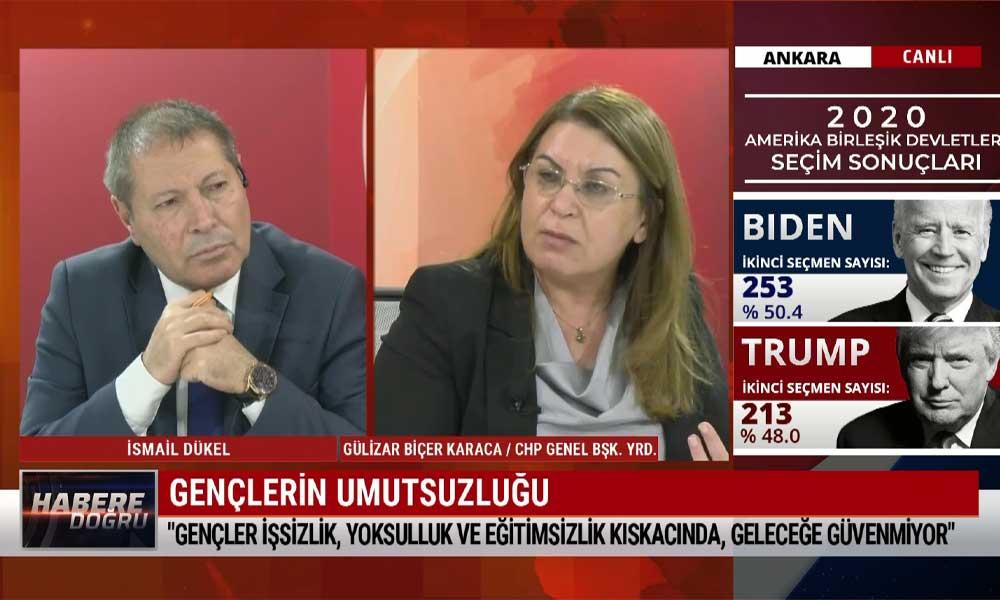 CHP Genel Başkan Yardımcısı Gülizar Biçer Karaca: İktidar, CHP ve İyi Parti'nin oylarını bölmeye çalışıyor