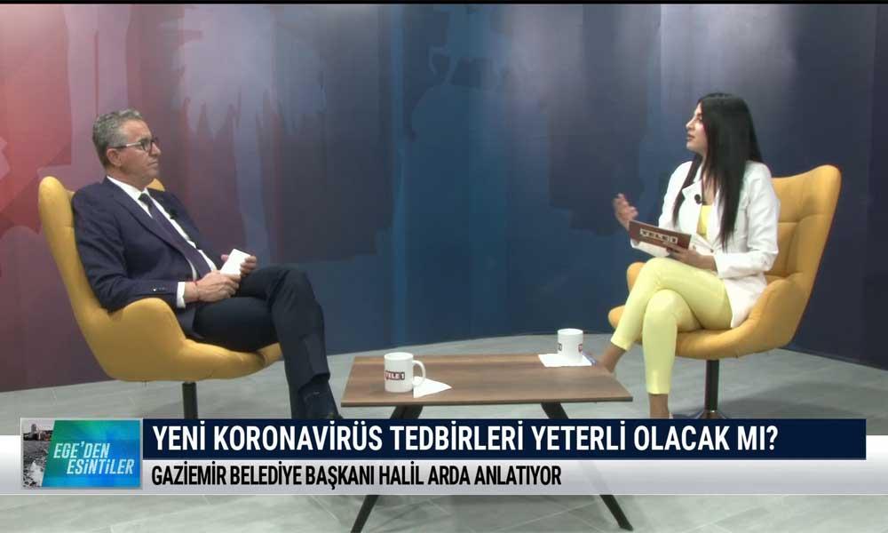 Ege'den Esintiler'in bu haftaki konuğu Gaziemir Belediye Başkanı Halil Arda