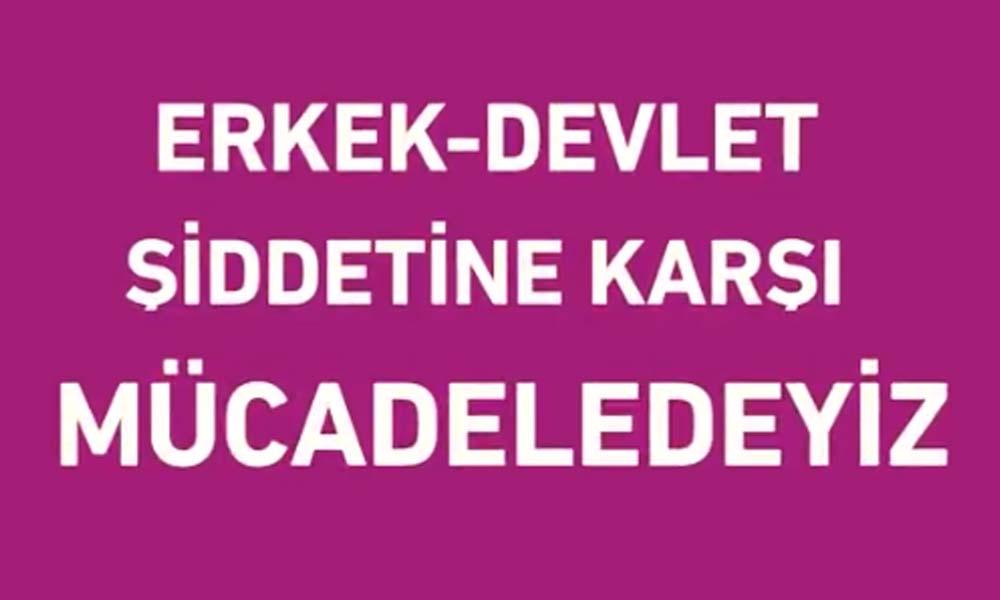 HDP'den 25 Kasım videosu: Hayatlarımızı bizden çalanlara itiraz ediyoruz