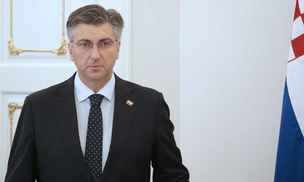 Hırvatistan Başbakanı koronavirüse yakalandı