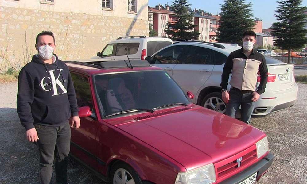 7 bin liraya aldığı aracı 70 bin liraya sattı