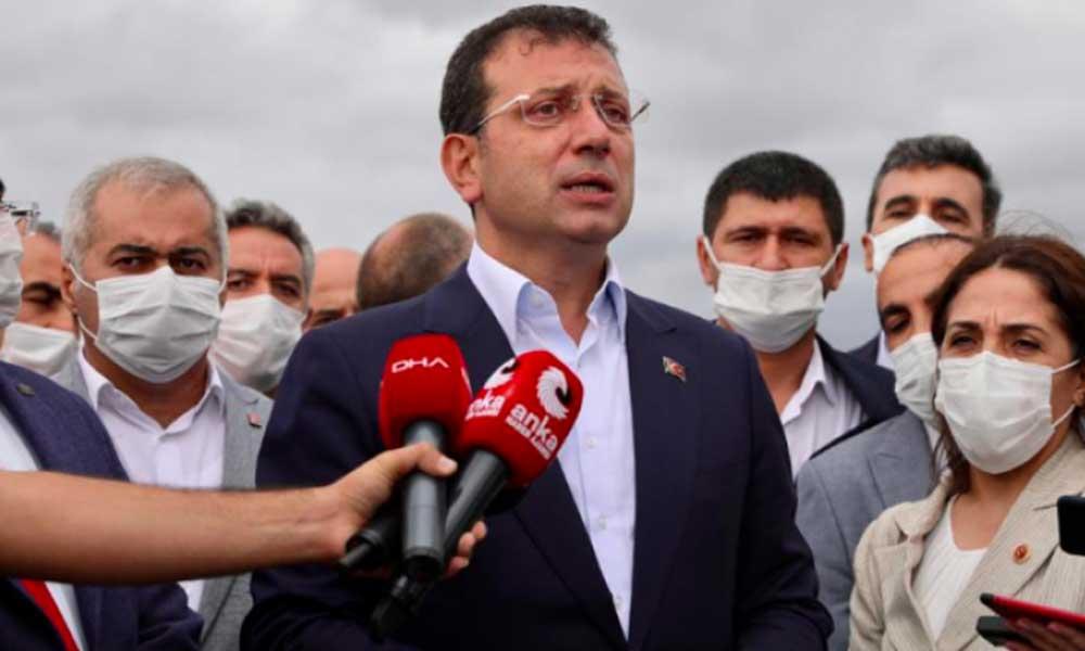 İmamoğlu, Kanal İstanbul'la ilgili yazılı ifadesini verdi