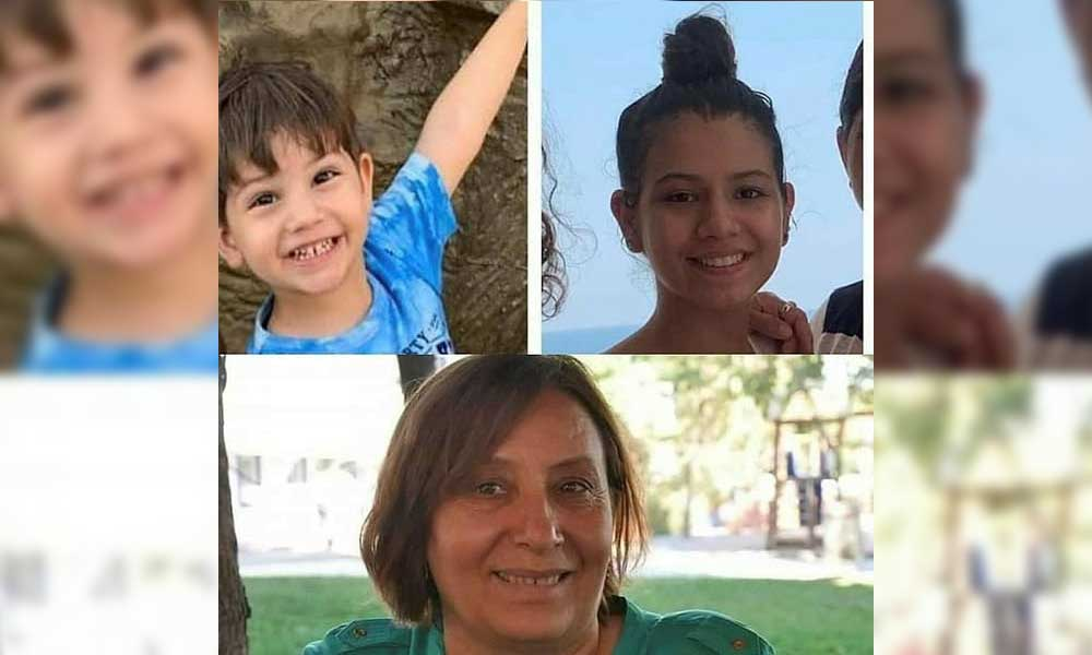İzmir depreminde yaşamını yitiren hala ve yeğenleri toprağa verildi