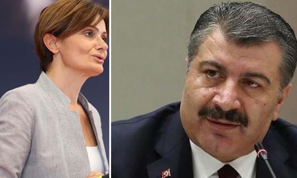 Kaftancıoğlu Bakan Koca'yı verilerle yalanladı: Sağlık Bakanının eli kolu bağlı